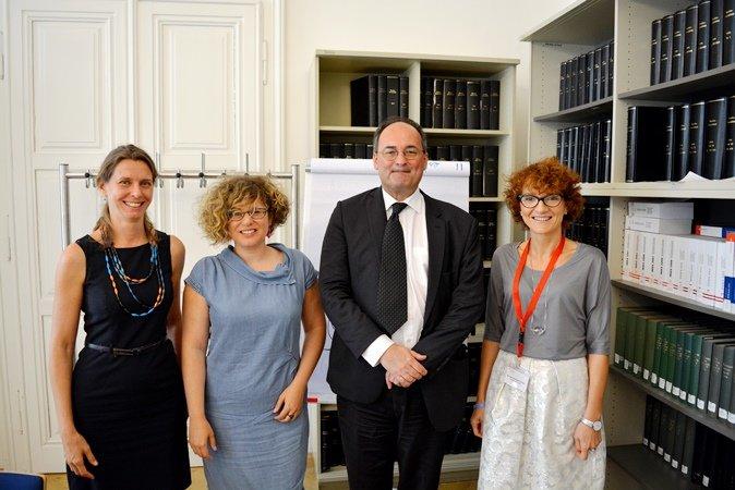 Wizyta w Ministerstwie Spraw Zagranicznych Austrii