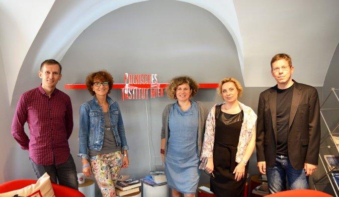 Wizyta w Instytucie Kultury Polskiej w Wiedniu
