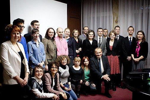 Spotkanie Doradcy Prezydenta RP Henryka Wujca zdziałaczami/czkami Fundacji Humanity in Action Polska w2012. Foto: www.prezydent.pl
